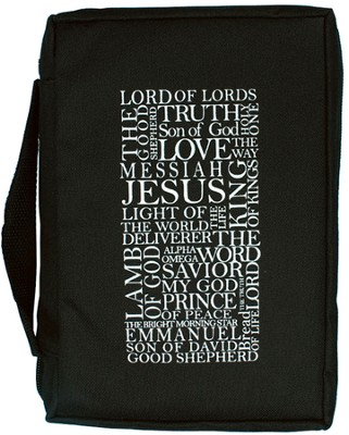 Names Of Jesus Bible Cover  -