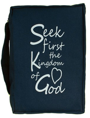 Seek the Kingdom of God Bible Cover  -