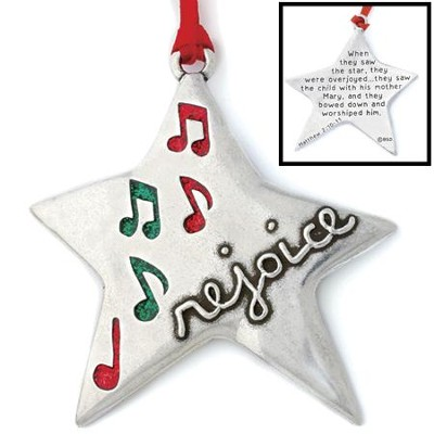 Star Ornament, Rejoice  -