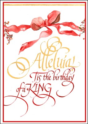 Alleluia! Deluxe Box Christmas Cards, Box of 20  -