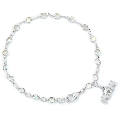 Mom Crystal Bracelet  -