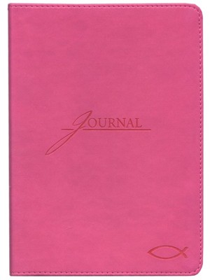 Ichthus Handy-size Journal, Pink   -