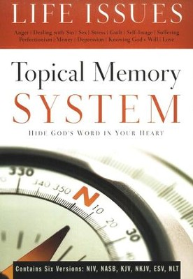 Topical Memory System Life Issues  -     By: The Navigators