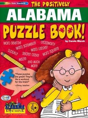 The Positively Alabama Puzzle Book  -     By: Carole Marsh