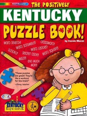The Positively Kentucky Puzzle Book  -     By: Carole Marsh