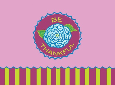 Be Thankful Note Cards  -