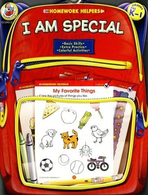 I Am Special (PreK-1) Homework Helper  -
