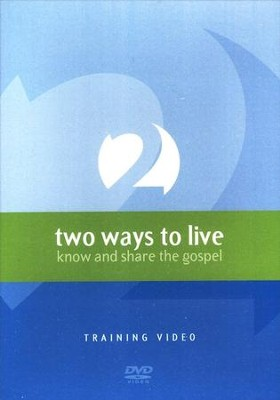2 Ways to Live: Know and Share the Gospel, Training DVD  -     By: Jensen Phillip, Payne Tony