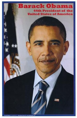 Barack Obama: America's 44th President Poster  -     By: Carole Marsh