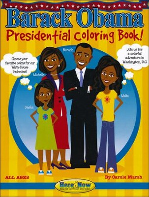 Barack Obama Presidential Coloring Book  -     By: Carole Marsh