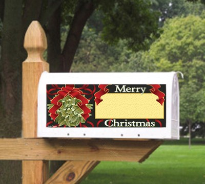 Merry Christmas Mailbox Magnet  -     By: MAILBX
