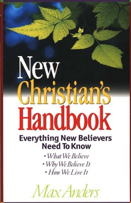 The New Christian's Handbook   -     By: Max Anders