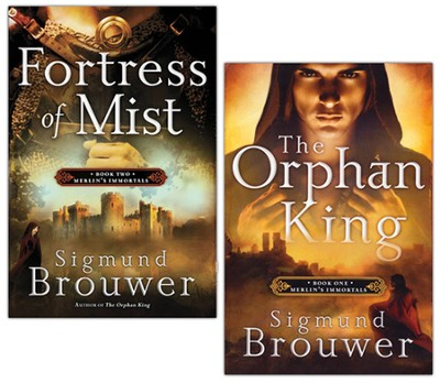 Merlin's Immortals Series, Vols 1-2   -     By: Sigmund Brouwer