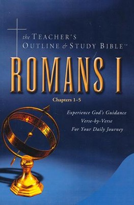 Teacher's Outline & Study Bible KJV: Romans Vol 1   -