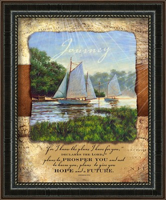 On Lifes Journey Framed Art  -