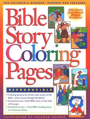 Bible Story Coloring Pages   -