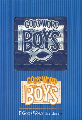 GOD'S WORD for Boys Bible, Duravella, blue prism  -
