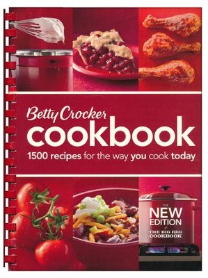 Betty Crocker Cookbook, 11th Edition: The Big Red Cookbook (Comb-Bound)  -