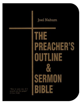 Joel-Nahum [The Preacher's Outline & Sermon Bible, KJV Deluxe]   -