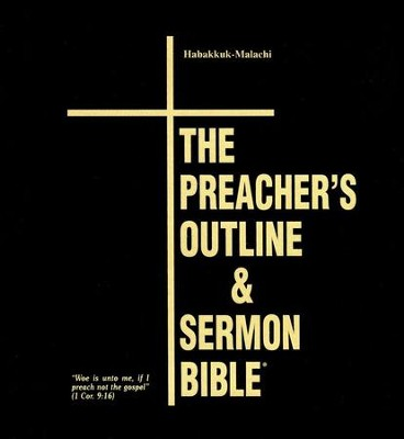 Habakkuk-Malachi [The Preacher's Outline & Sermon Bible, KJV Deluxe]  -     By: Leadership Ministries Worldwide