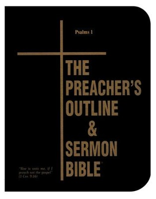 Psalms: Part 1 [The Preacher's Outline & Sermon Bible, KJV  Deluxe]  -     By: Leadership Ministries Worldwide