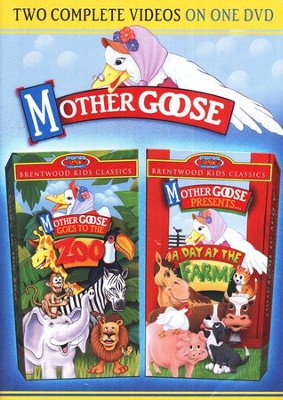 Mother Goose Goes to the Zoo/A Day At the Farm DVD  -