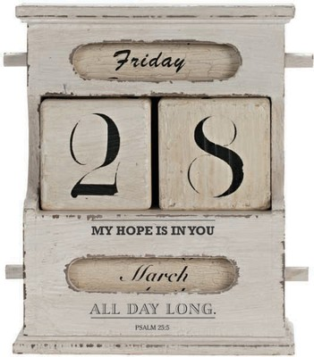 My Hope is in You Desk Perpetual Calendar  -