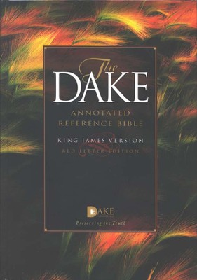KJV Dake Annotated Reference Bible, Hardcover   -     By: Bible