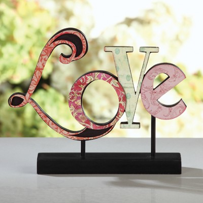 Love Plaque  -     By: Connie Halley