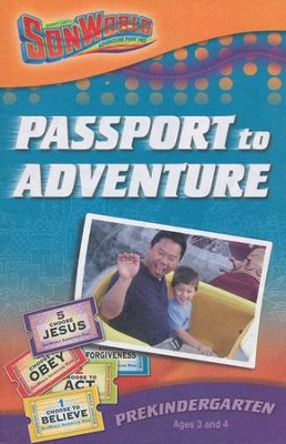 SonWorld Adventure Park Passport to Adventure Student Book,  Preschool (Ages 3 & 4)  -