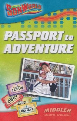 SonWorld Adventuer Park Passport to Adventure Student Book, Middler, Ages 8-10  -