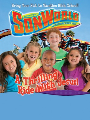 SonWorld Theme Poster Large: A Thrilling Ride With Jesus  -