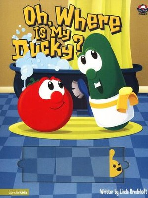 Oh, Where Is My Ducky? A VeggieTales Board Book   -     By: Linda Bredehoft
