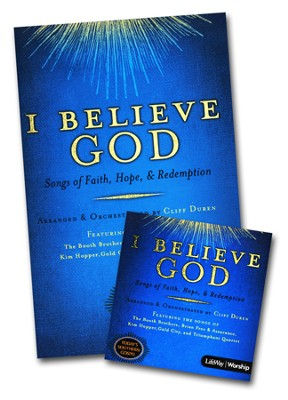 I Believe God Songbook & Listening CD  -     By: Cliff Duren