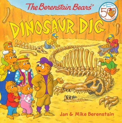 The Berenstain Bears Dinosaur Dig   -     By: Jan Berenstain, Mike Berenstain     Illustrated By: Jan Berenstain