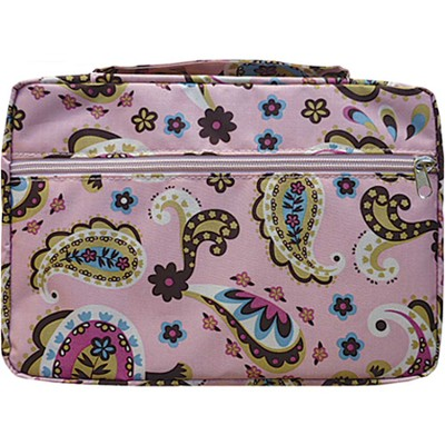 Paisley Bible Cover, Pink, X-Large  -