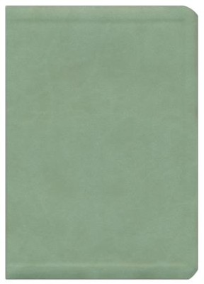 NIV Thompson Chain-Reference Bible, Handy Size, Sage Green Kirvella Imitation Leather, Thumb-Indexed 1984  -
