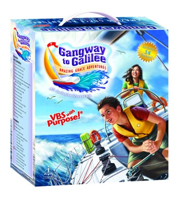 Gangway to Galilee--VBS Starter Kit - Slightly Imperfect  -