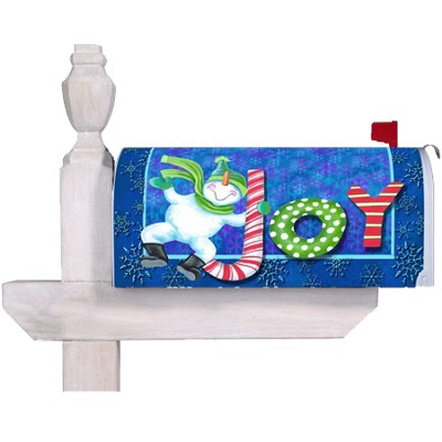 Joy Mailbox Cover  -     By: Mary Lou Troutman