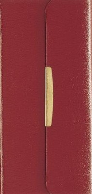 NKJV Classic Compact Bible, Bonded Leather with snap   -     By: Bible
