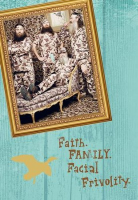Duck Dynasty, Men, Faith, Family Birthday Cards, Pack of 6  -