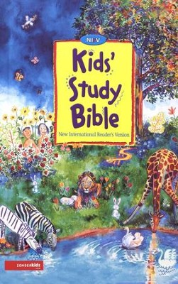 NIrV Kids' Study Bible Revised, softcover   -