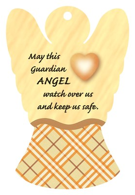 Keep Us Safe, Angel Air Freshener  -