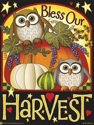 Bless Our Harvest Magnet  -     By: MAGNET