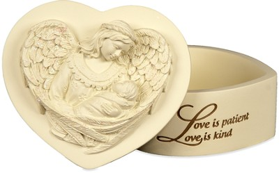 Love Is Patient Keepsake Box  -