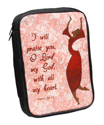 I Will Praise Bible Cover  -