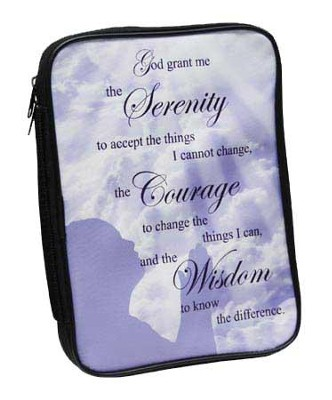 Serenity Prayer Bible Cover  -