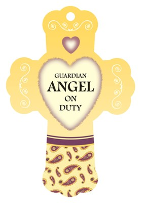 Guardian Angel on Duty, Cross Air Freshener  -