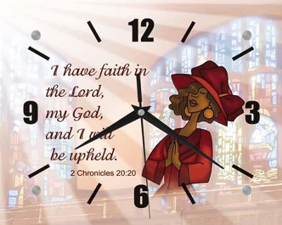 I Have Faith Clock  -