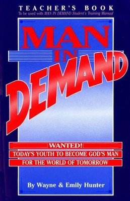 Man in Demand Teacher's Edition   -     By: Emily Hunter